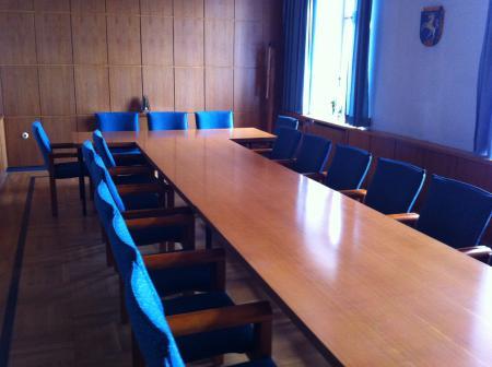 Sitzungssaal Gemeinde Röslau