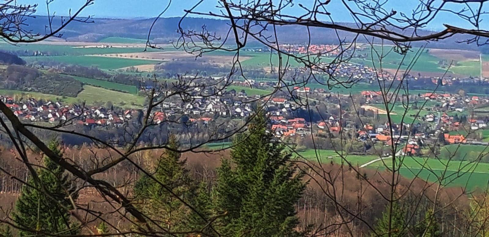 Blick von der Hammersteins Höhe