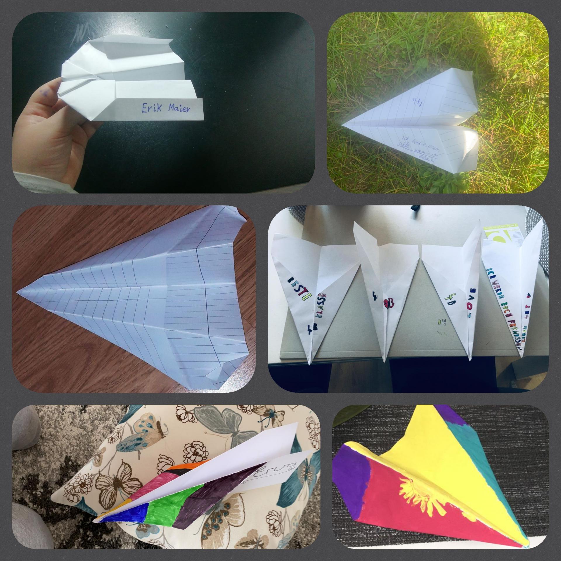 Papierflieger 2