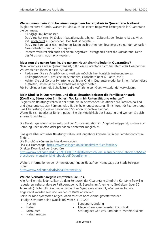 Informationen für Eltern und Fachkräfte 2