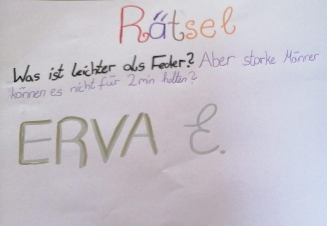 Rätsel Erva