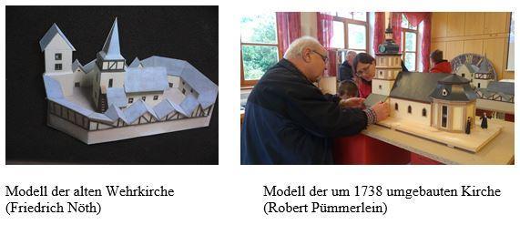 Modelle Kirche