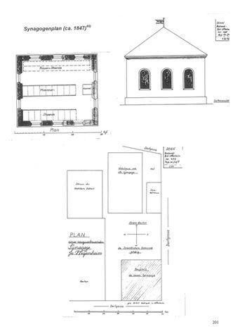 Plan Synagoge