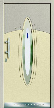 Blatt-Haustüren