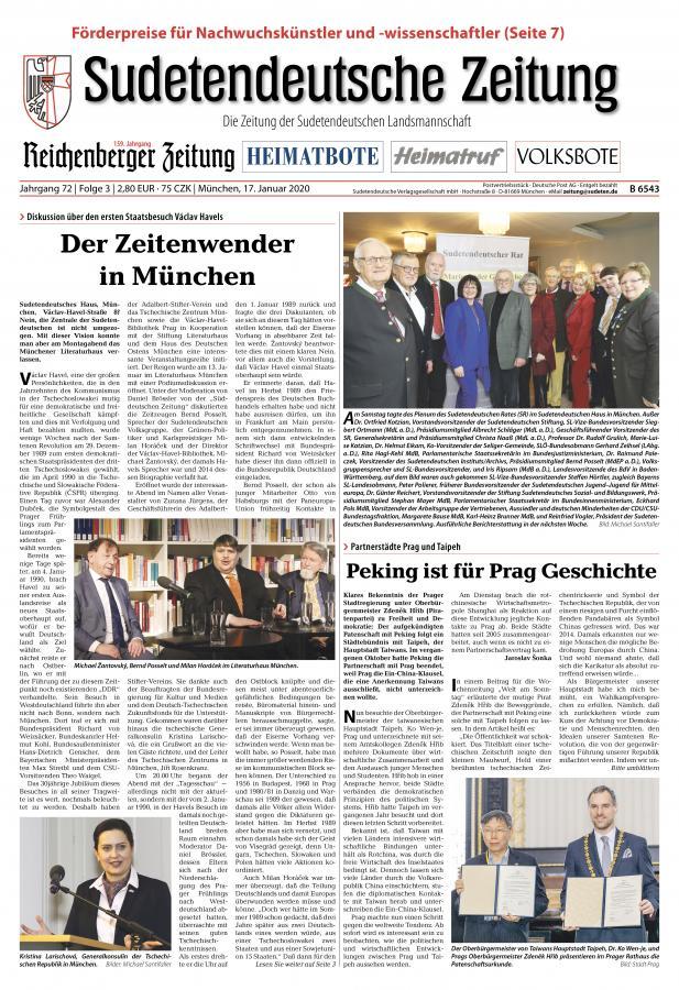 Sudetendeutsche Zeitung
