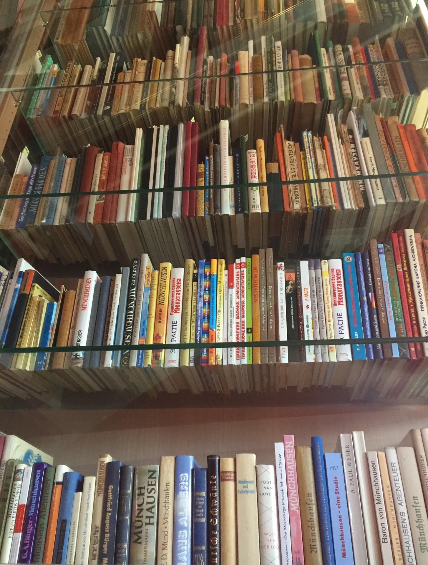 Ein Buch geht um die Welt.