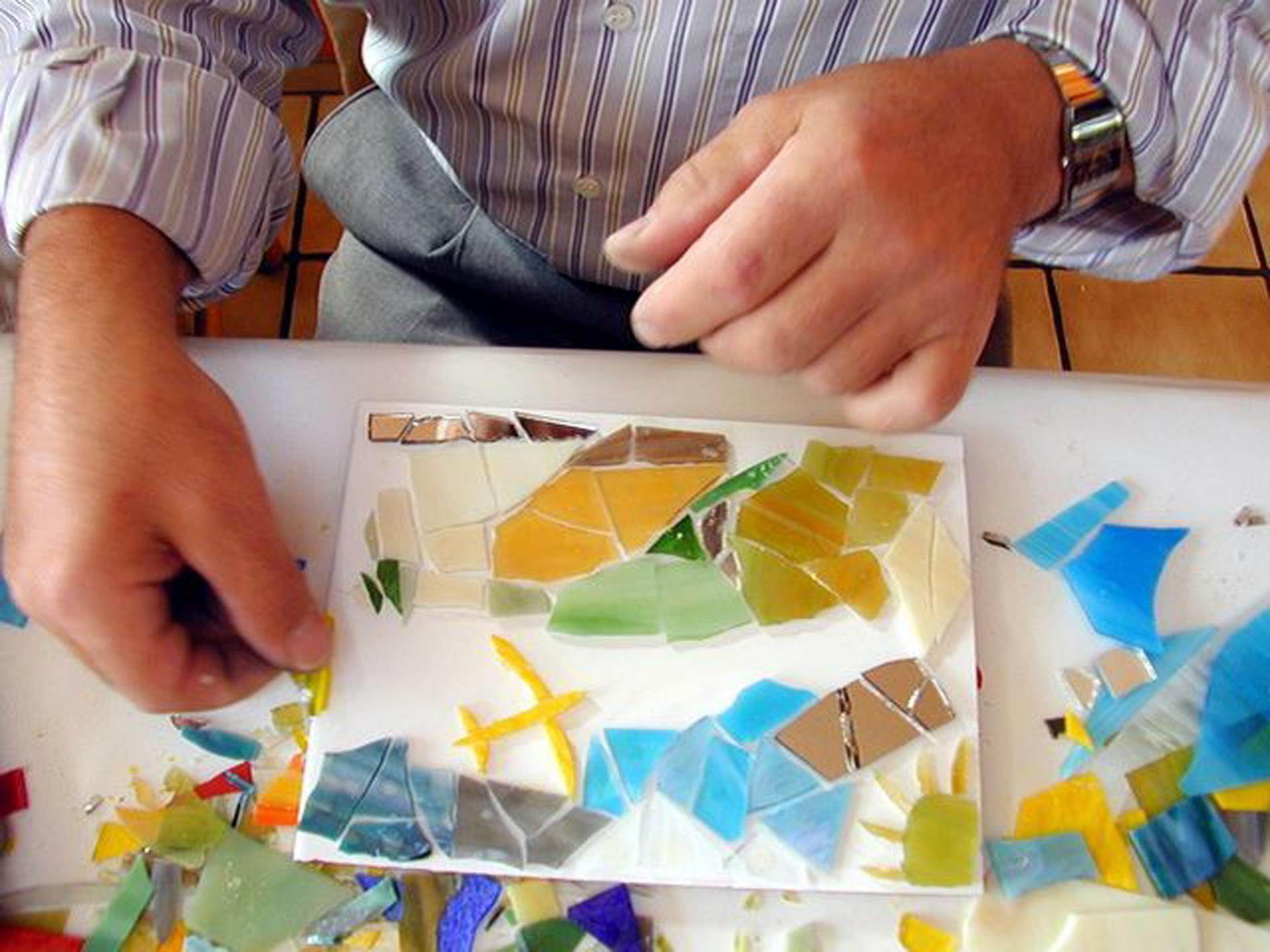 Mosaik fertigen
