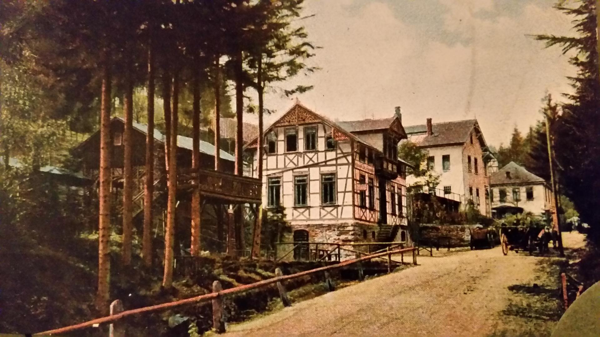 Bad Finkenmühle um 1910
