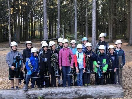 Kletterwald Miltach 2019 1