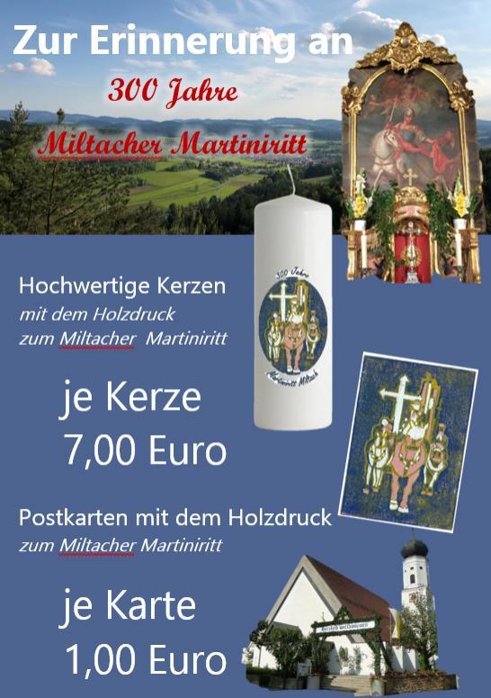 Verkauf Martiniritt Miltach