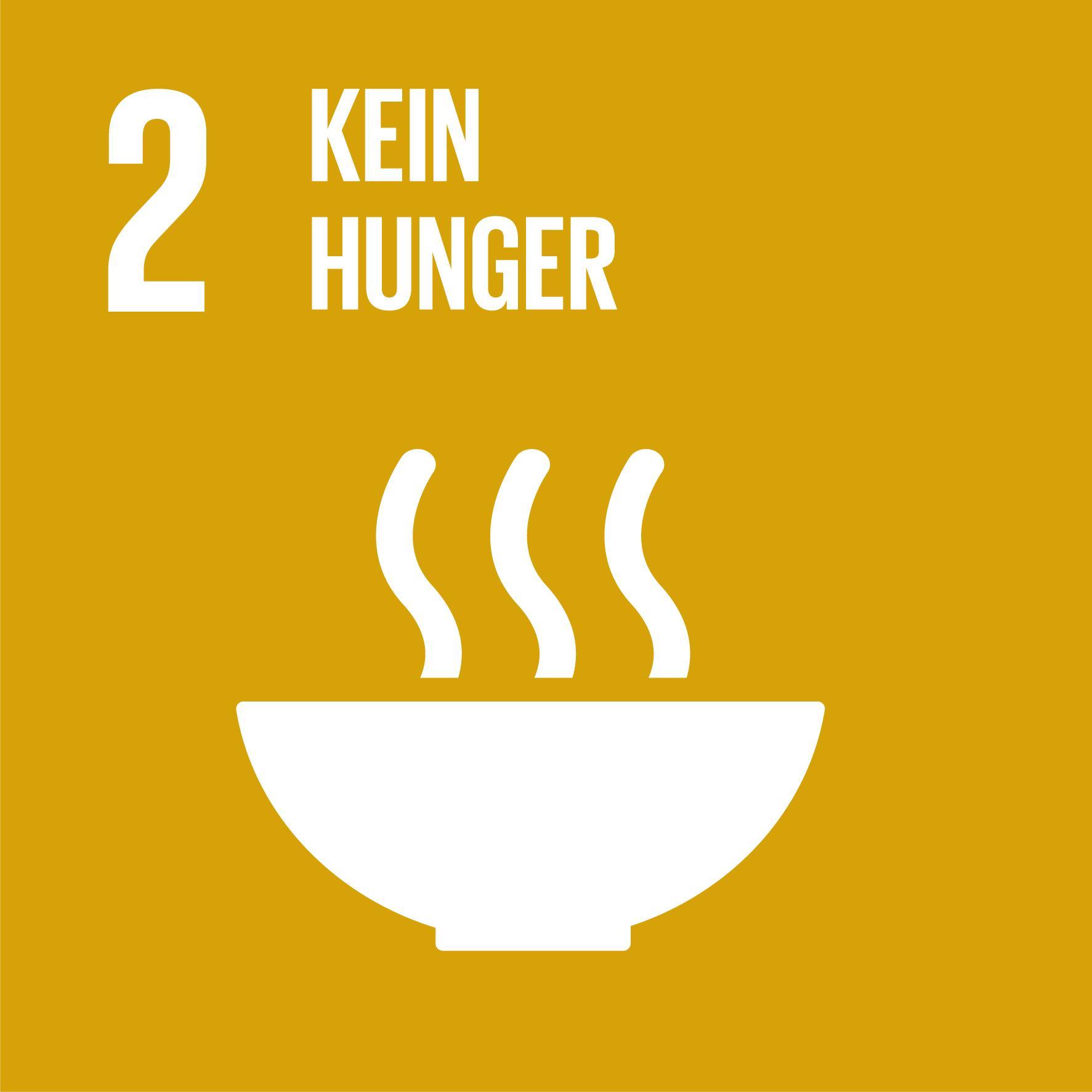 17 Nachhaltigkeitsziele - Ziel 2