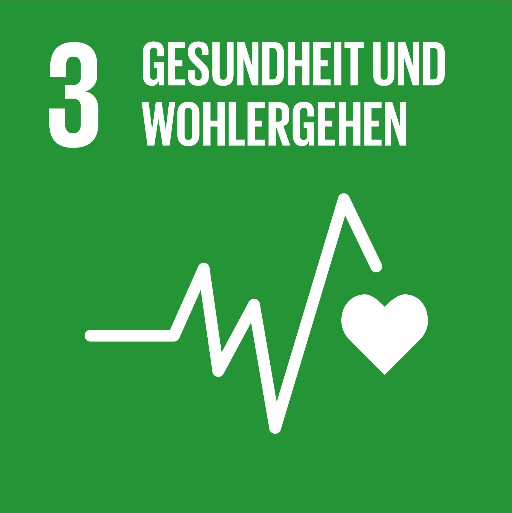17 Nachhaltigkeitsziele - Ziel 3