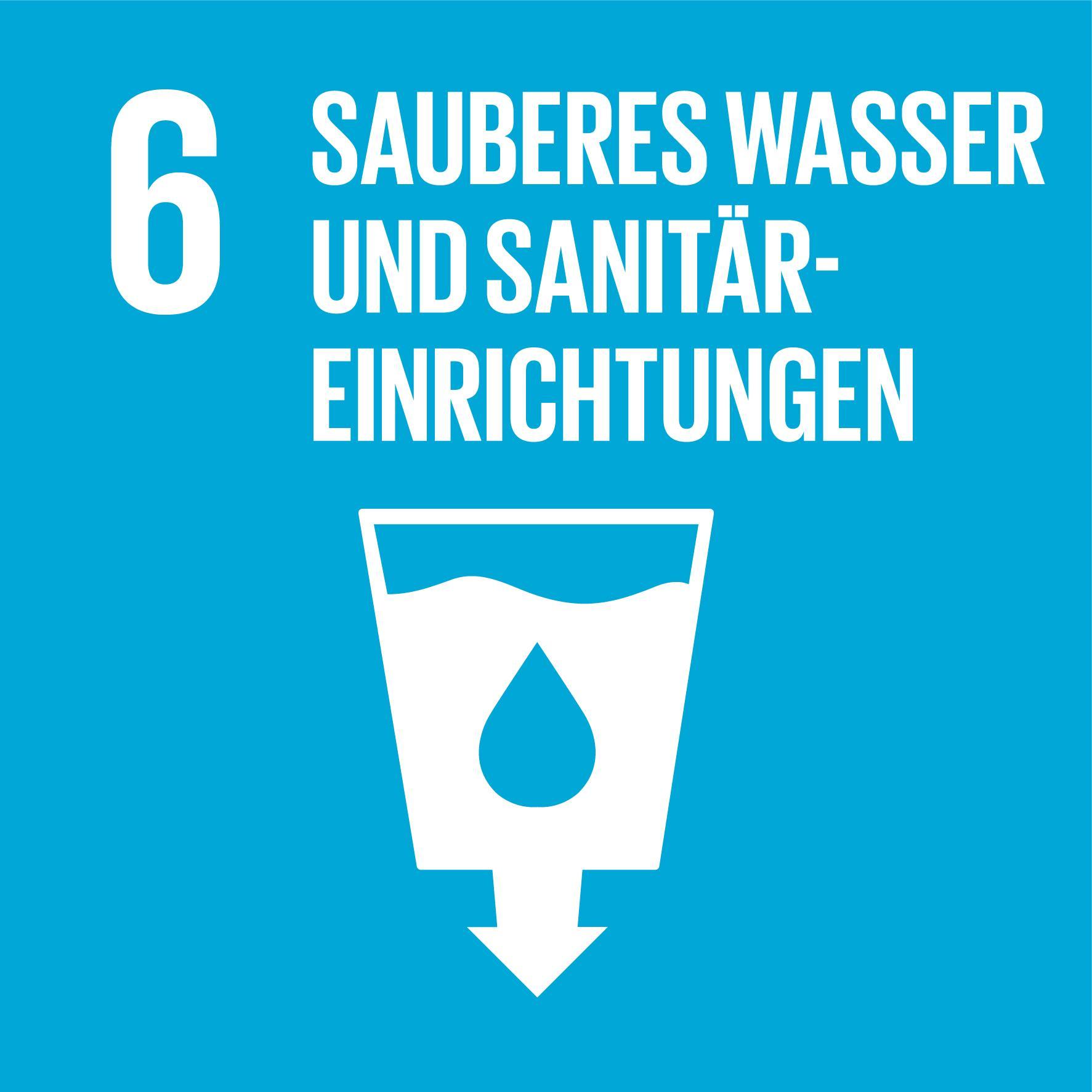 17 Nachhaltigkeitsziele - Ziel 6