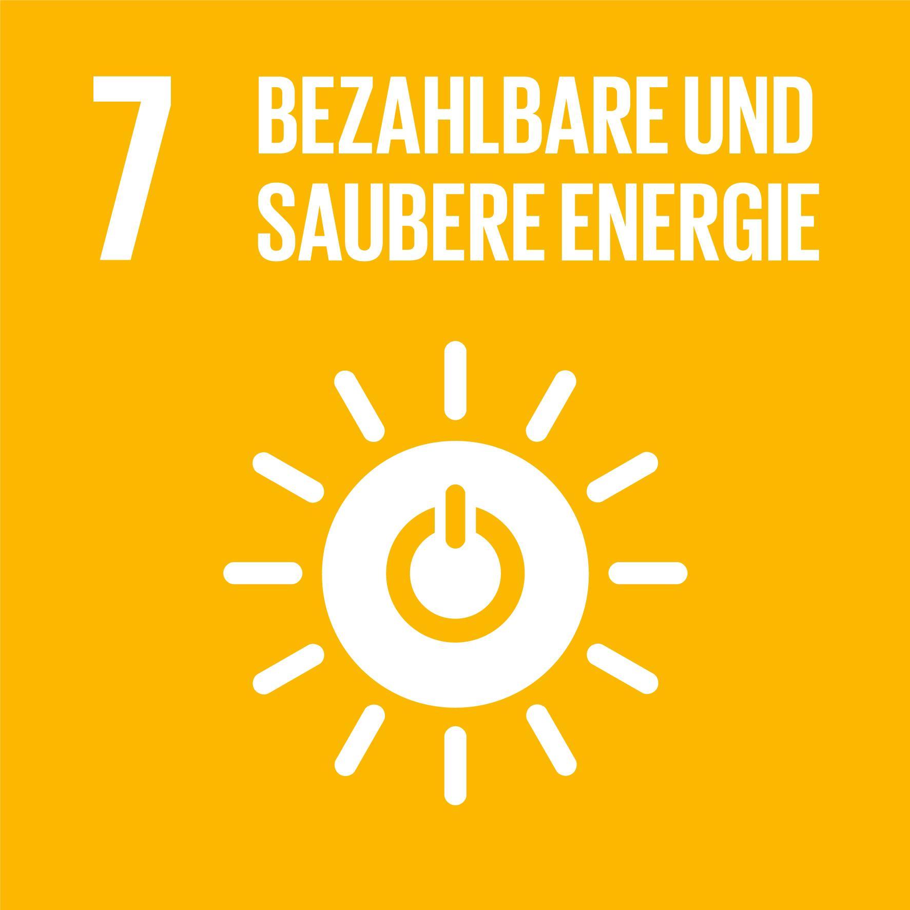 17 Nachhaltigkeitsziele - Ziel 7