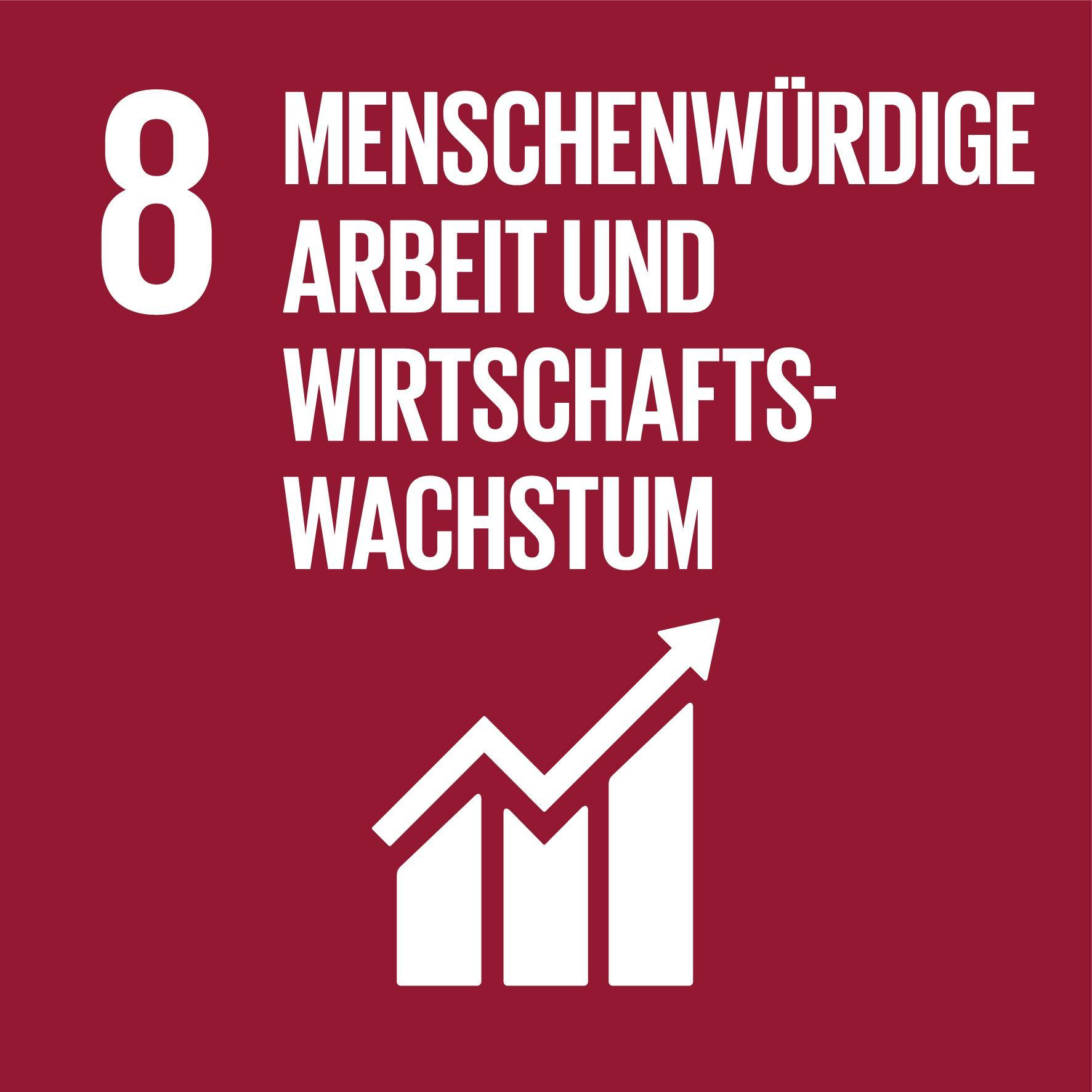 17 Nachhaltigkeitsziele - Ziel 8