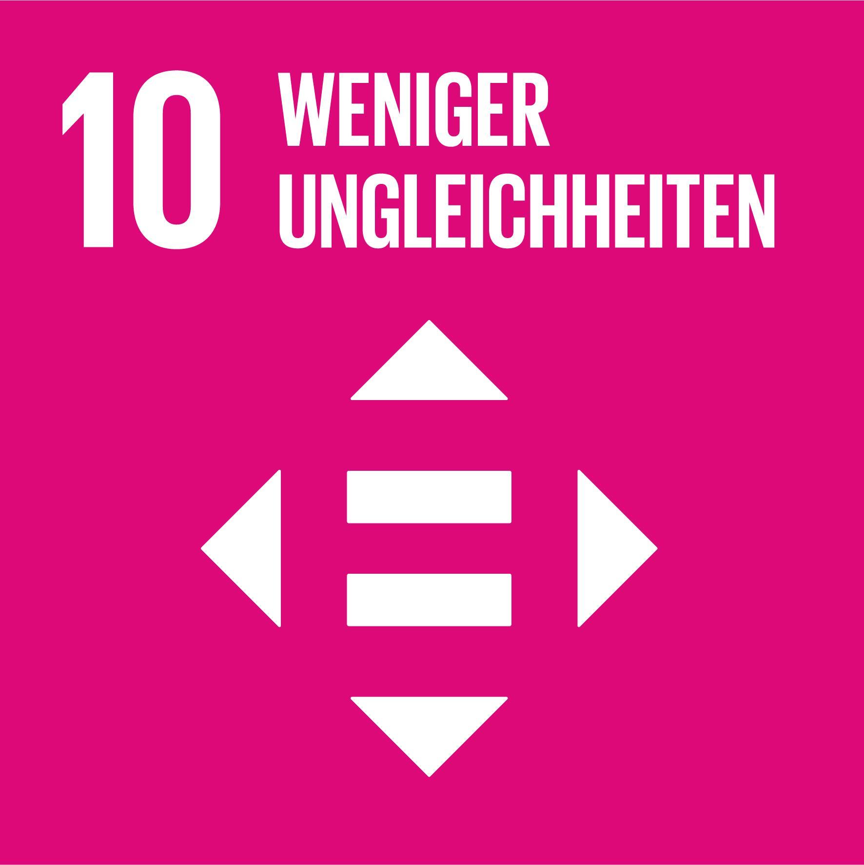 17 Nachhaltigkeitsziele - Ziel 10