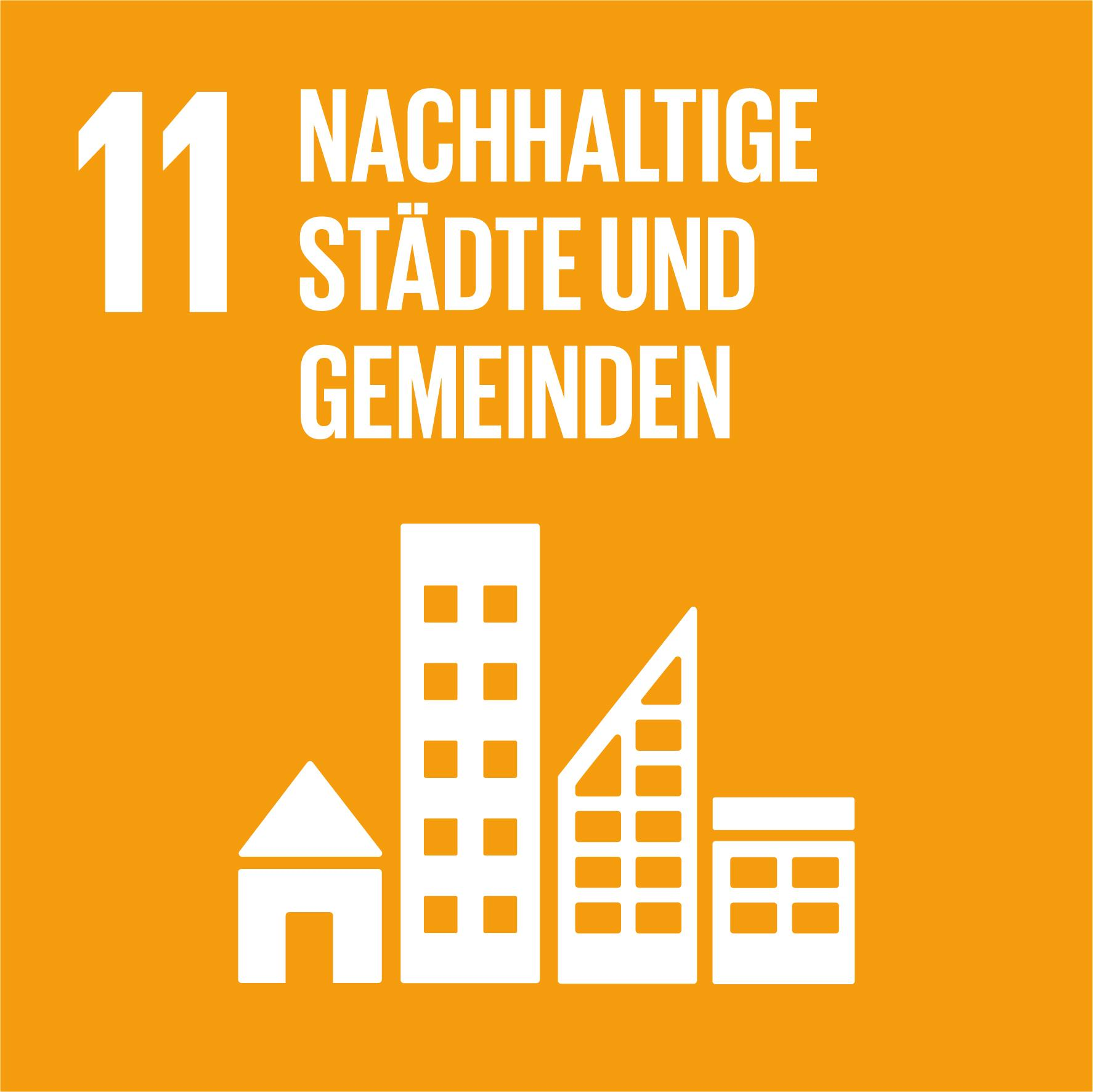 17 Nachhaltigkeitsziele - Ziel 11