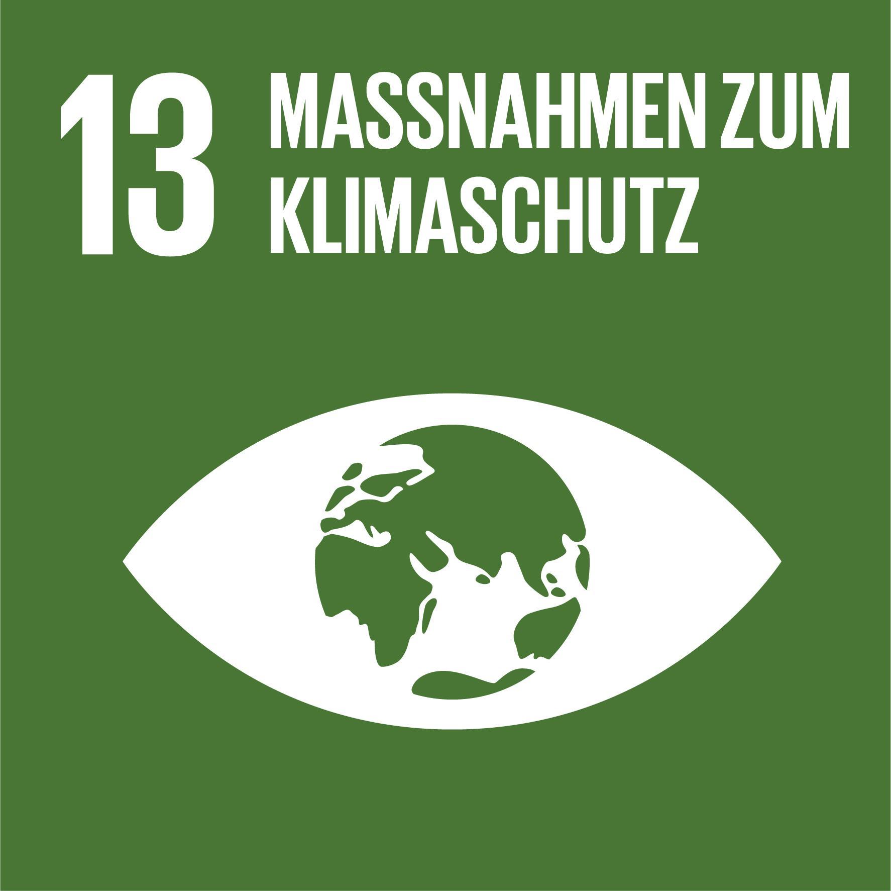 17 Nachhaltigkeitsziele - Ziel 13