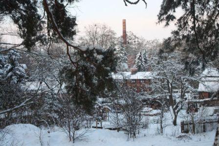 Winter in Glashütte