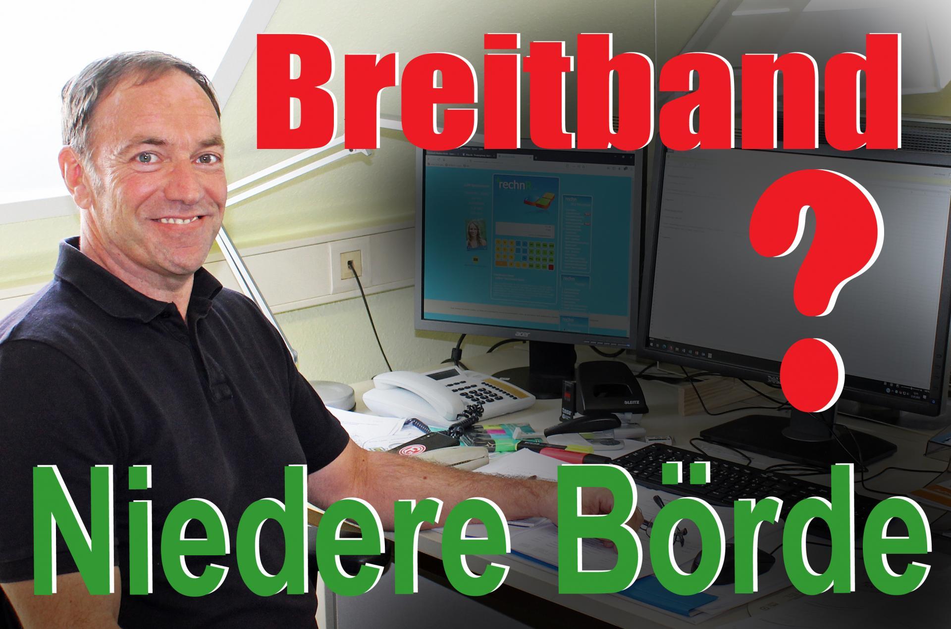 Breitbandinformationen Gemeinde Niedere Börde