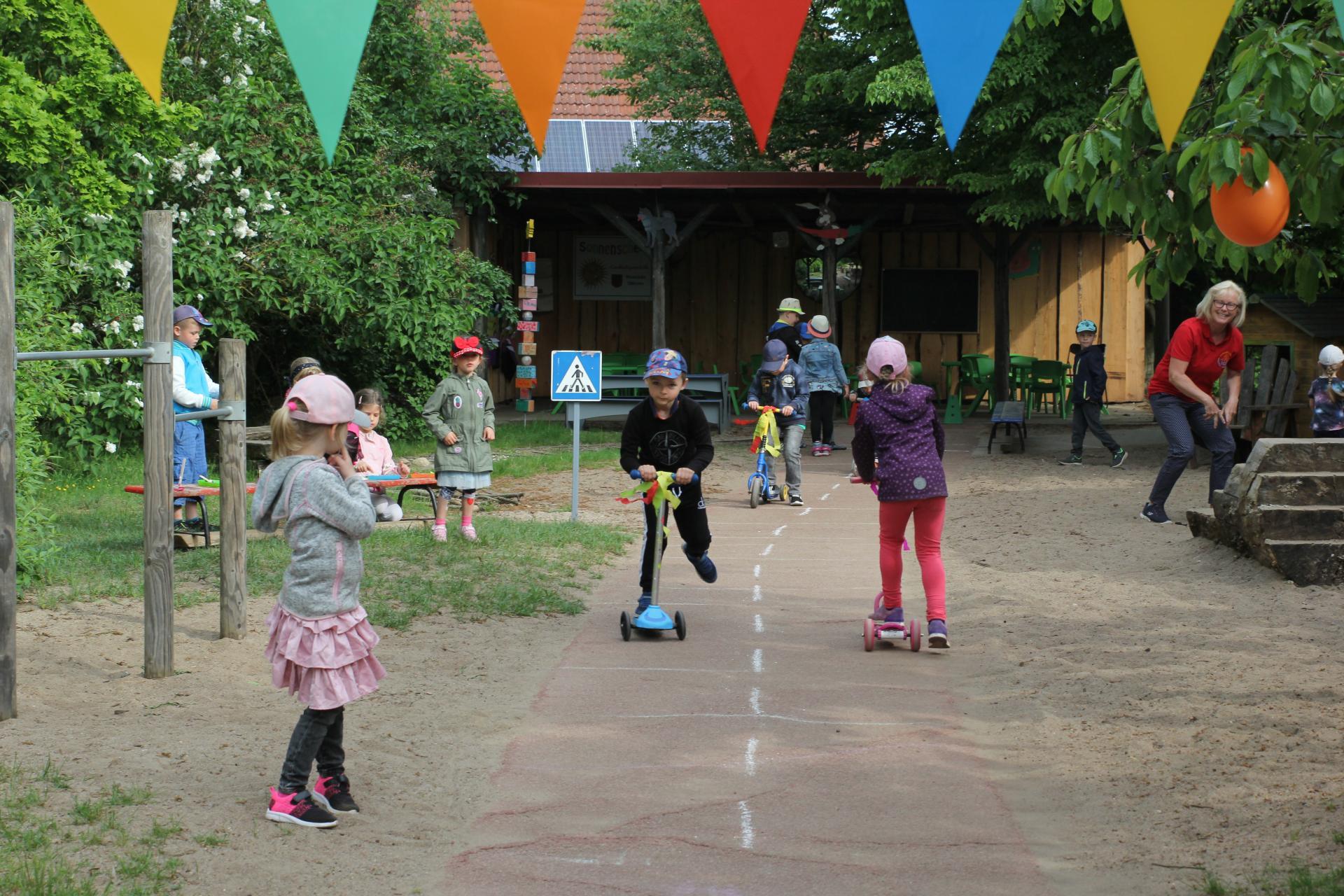 Rollerspaß am Kindertag