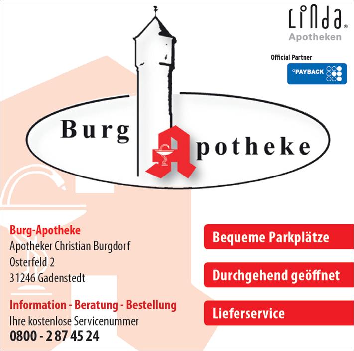 Logo Burgapotheke