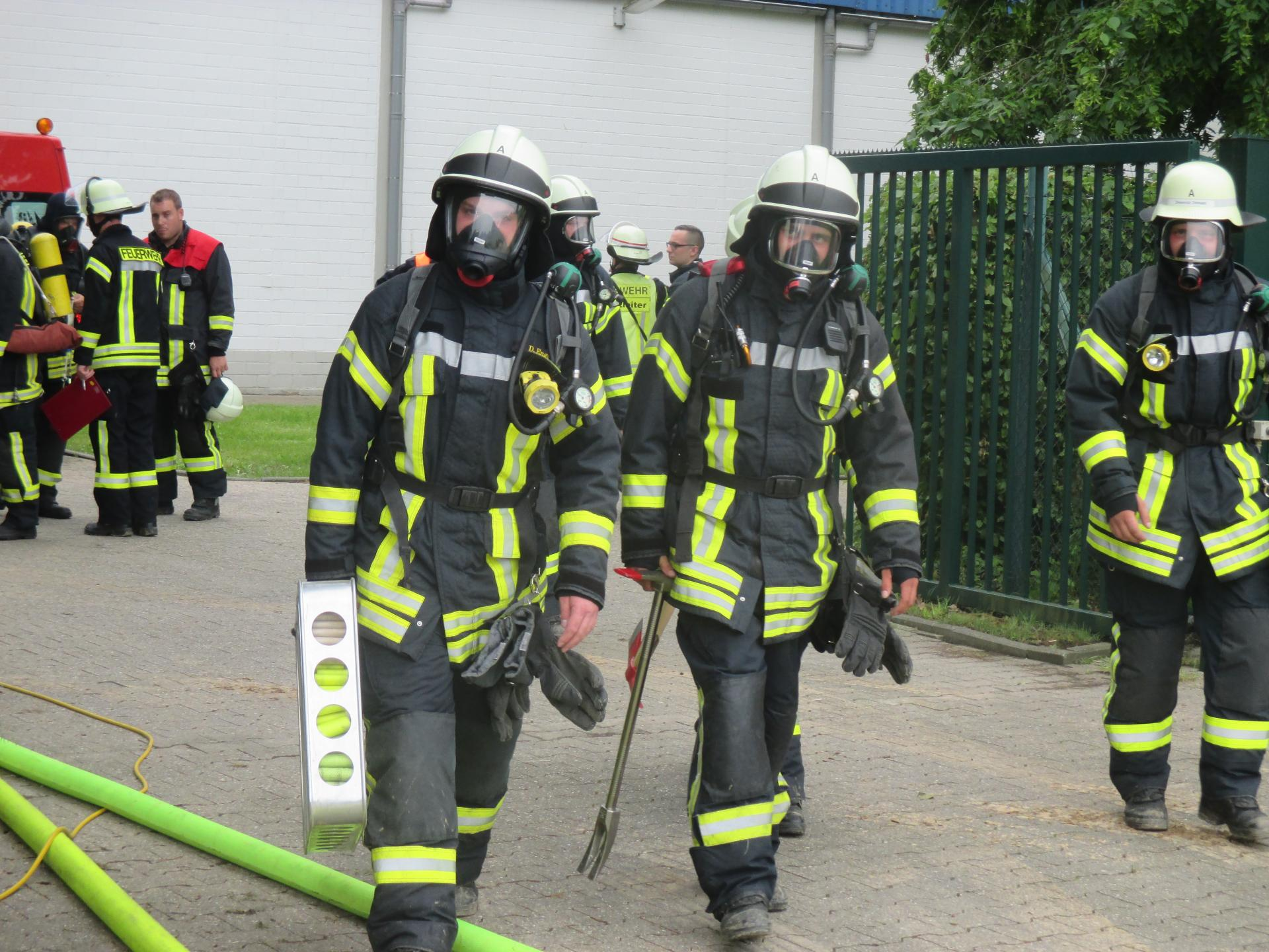Schutzkleidung für Brandeinsätze