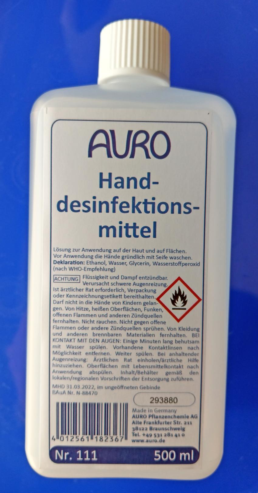 Auro 111 Desinfektionsmittel