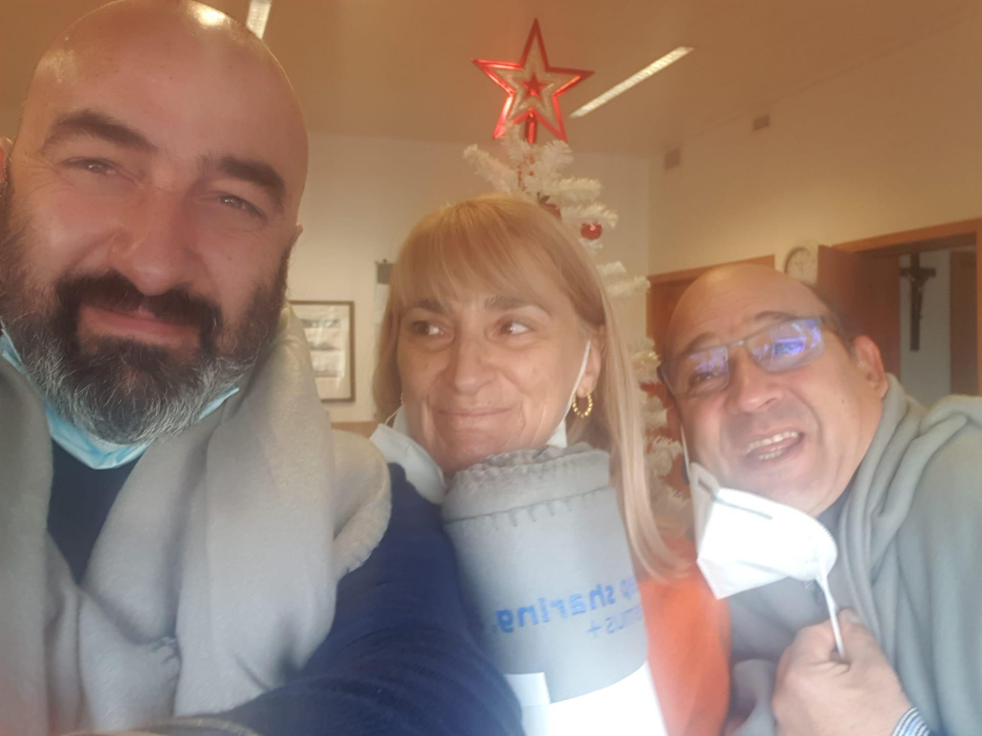 ERASMUS+ Partner freuen sich über Präsente