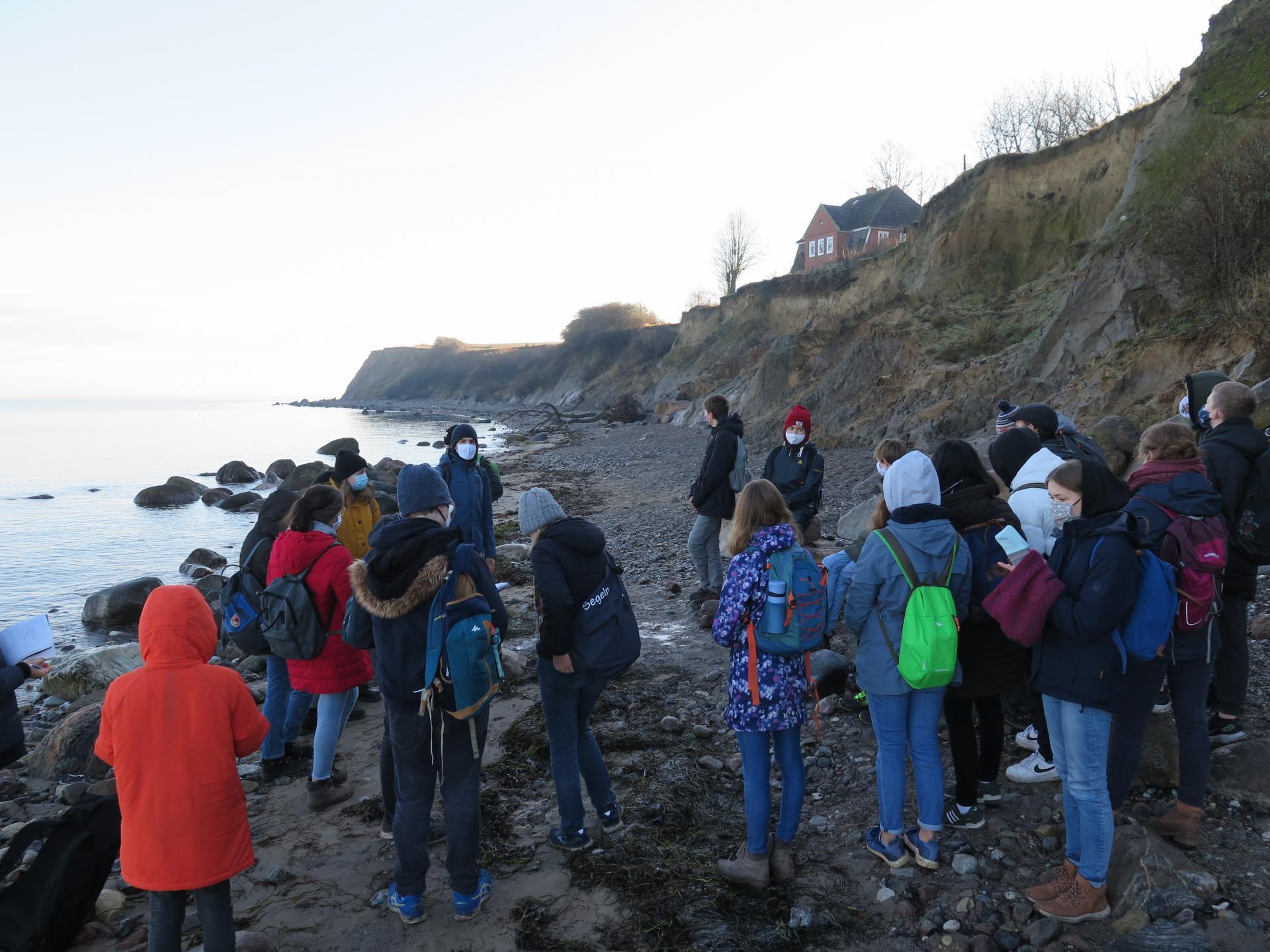 Exkursion Brodtener Ufer