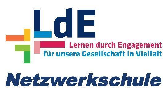 Logo LdE Netzwerkschule