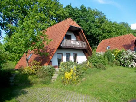 """Ferienhäuser Typ """" Finnhaus"""" am Vogelpark Marlow - Recknitz-Tourist Marlow"""