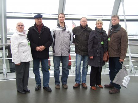 Besuch des Bundestages Berlin