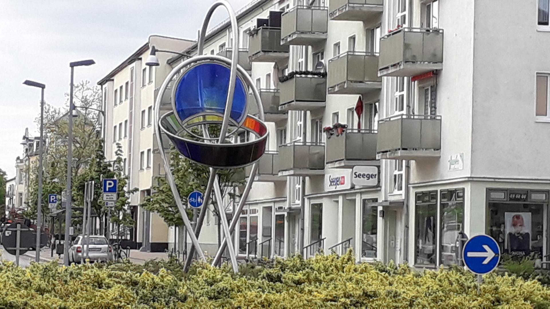 Optikdenkmal Lichtbogen
