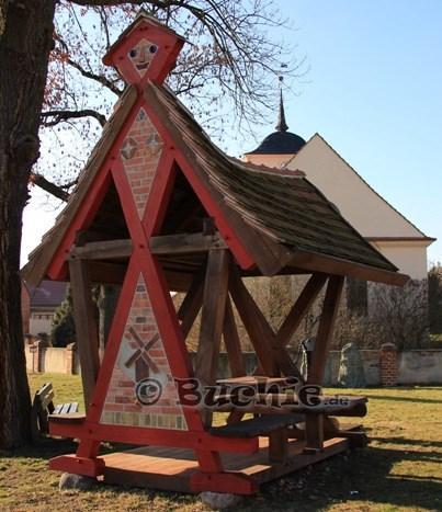 Wegemarke in Steckelsdorf