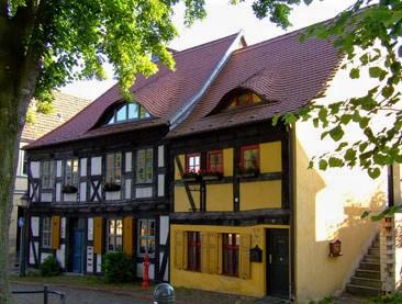Kirchberg Fachwerkhäuser