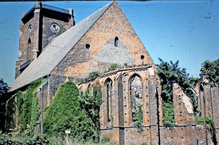 St. Marien-Andreas-Kirche zur DDR-Zeit