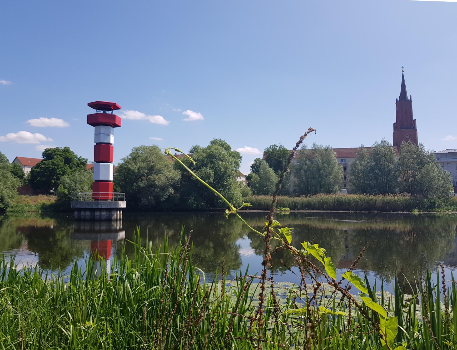 Leuchtturm     (c) Optikpark Rathenow