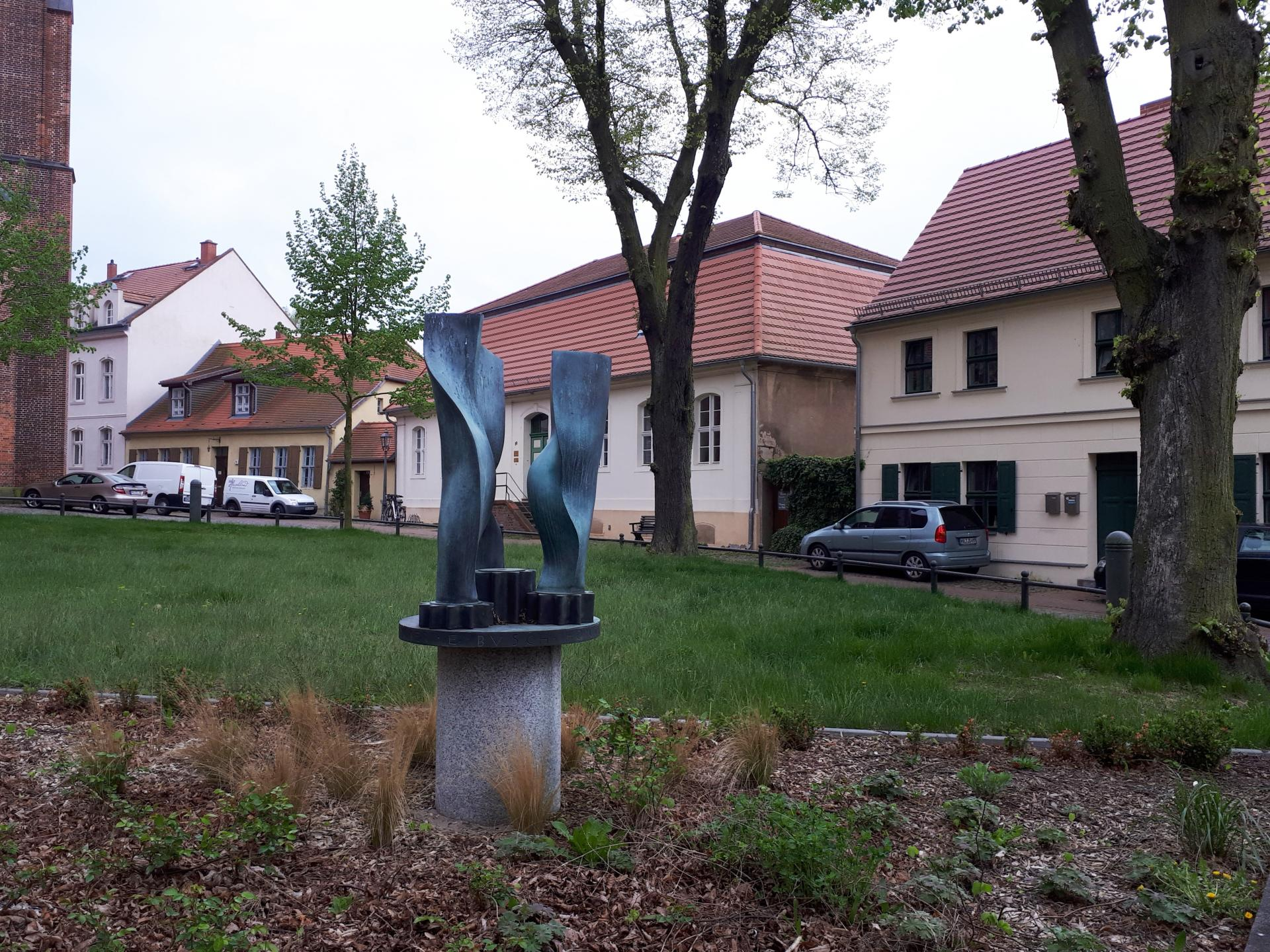 "Kirchberg Optikdenkmal ""Dreiklang"""
