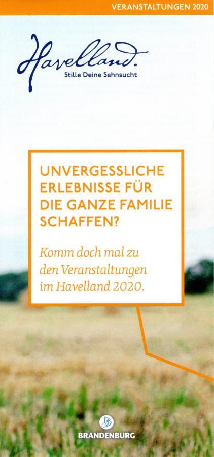 Veranstaltungskalender Havelland 2020