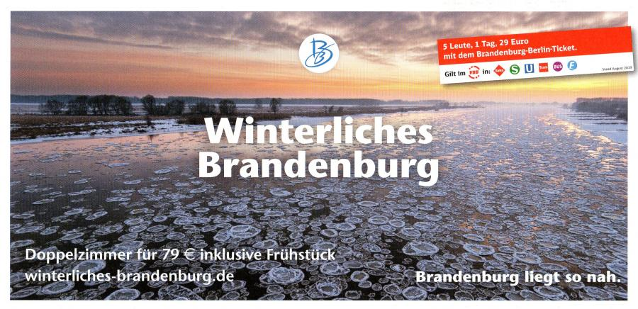 Winterliches Brandenburg