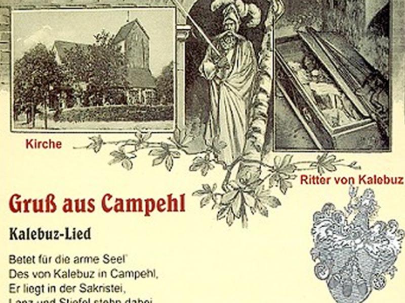 Karte Kampehl