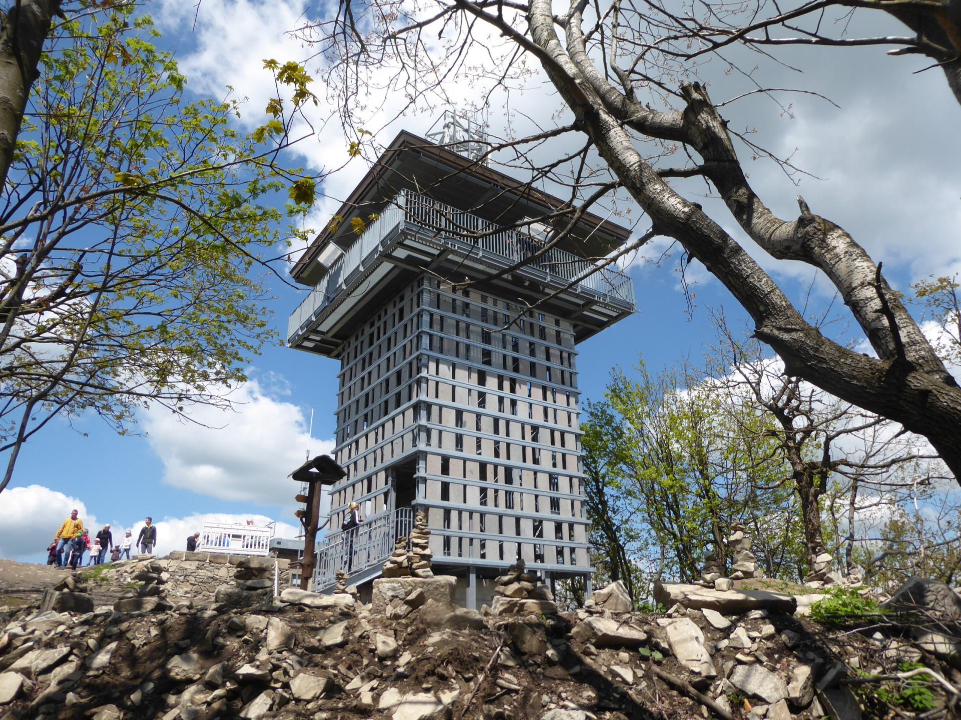 Der neue Lauscheturm