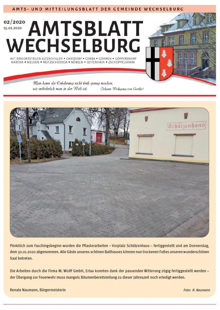 Amtsblatt Februar