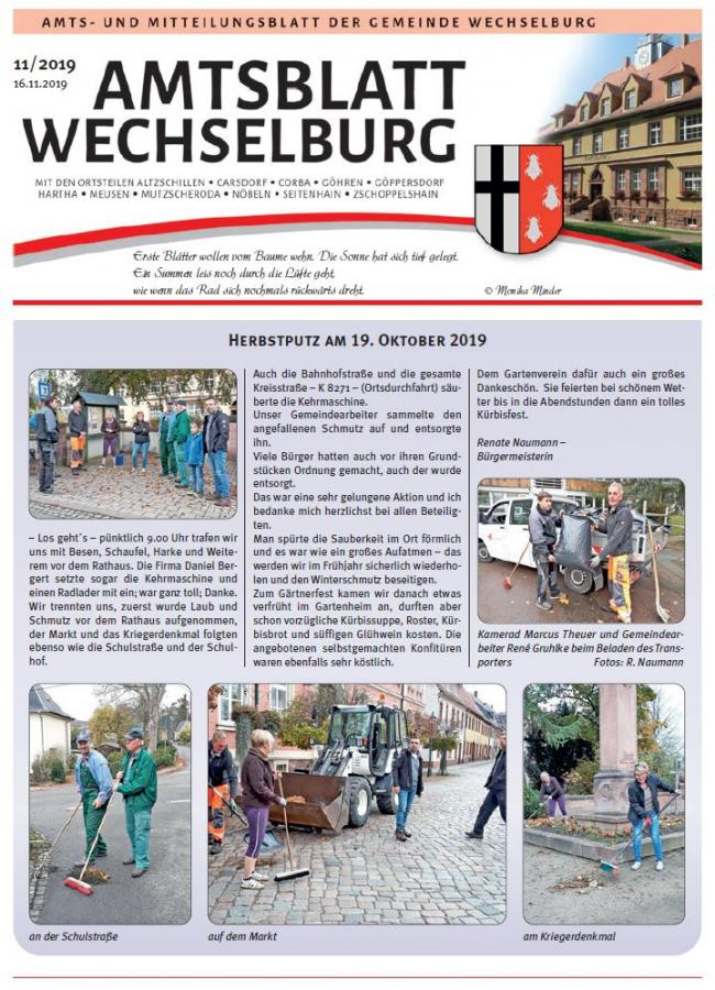 Amtsblatt November
