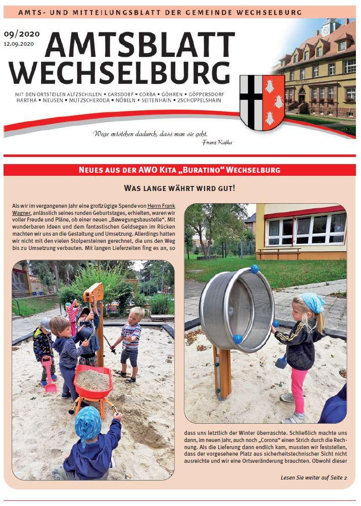 Amtsblatt September