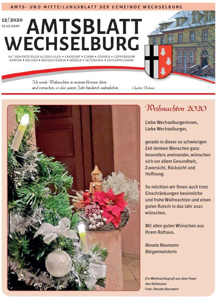 Amtsblatt Dezember