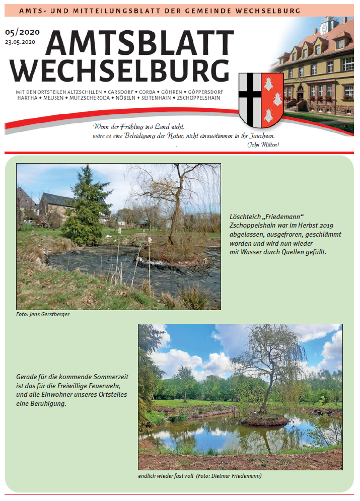 Amtsblatt Mai