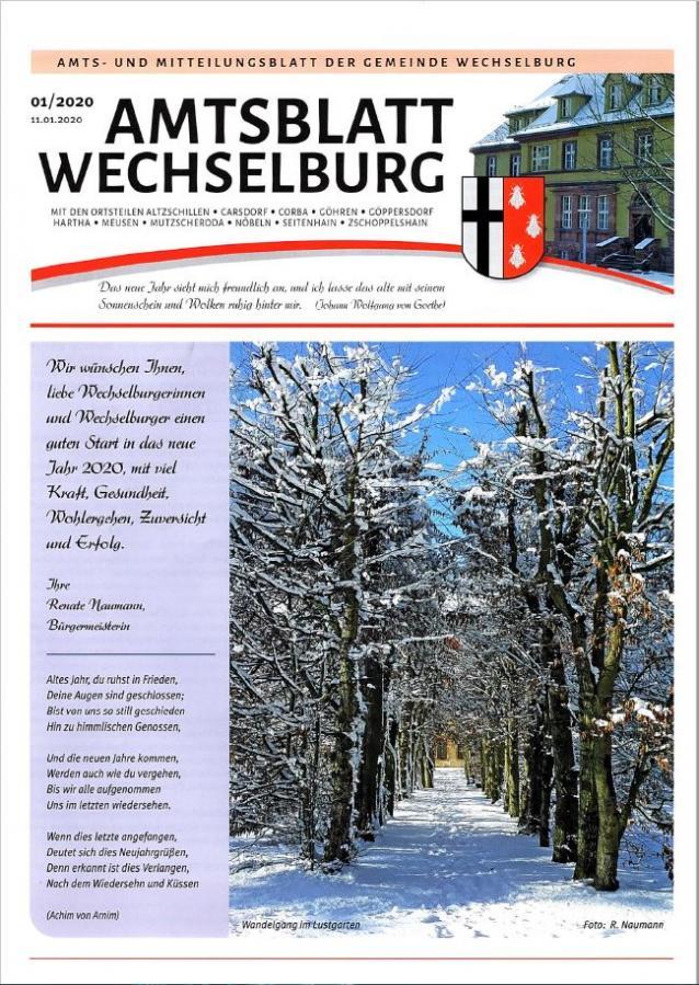Amtsblatt Januar