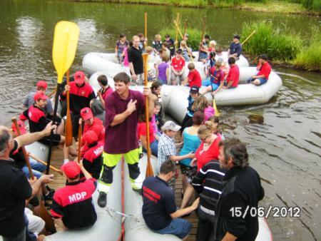 3. Jugendfeuerwehrzeltlager 2012 - Bootstour